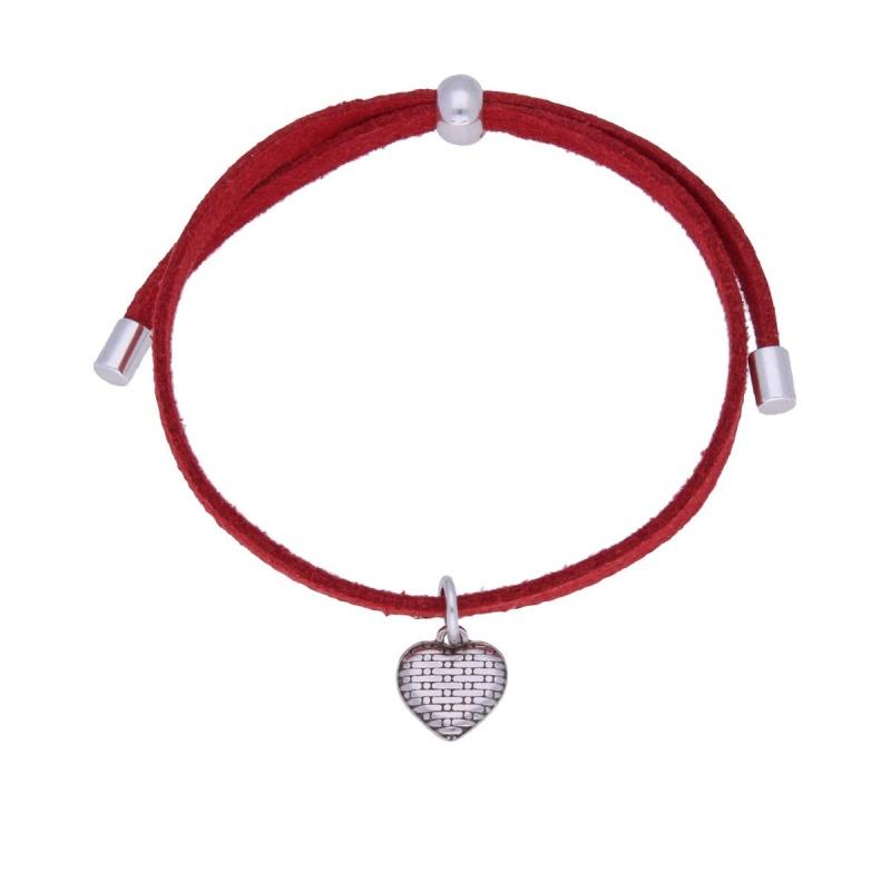 Браслет с сердечком By Dziubeka I Love 5933