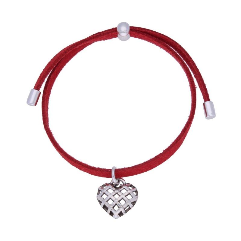 Браслет с сердцем By Dziubeka I Love 5936