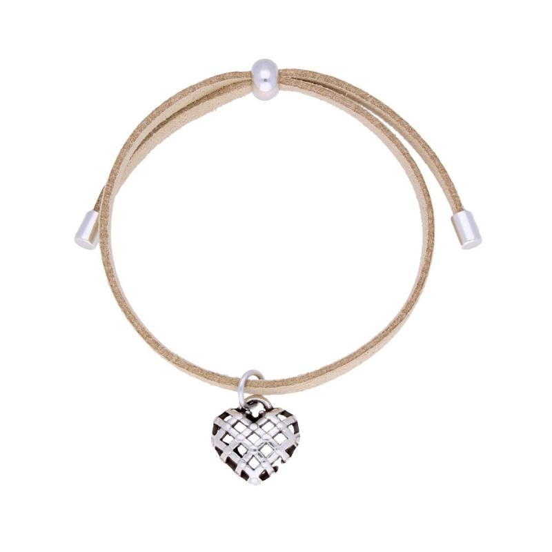 Браслет с сердцем By Dziubeka I Love 5943