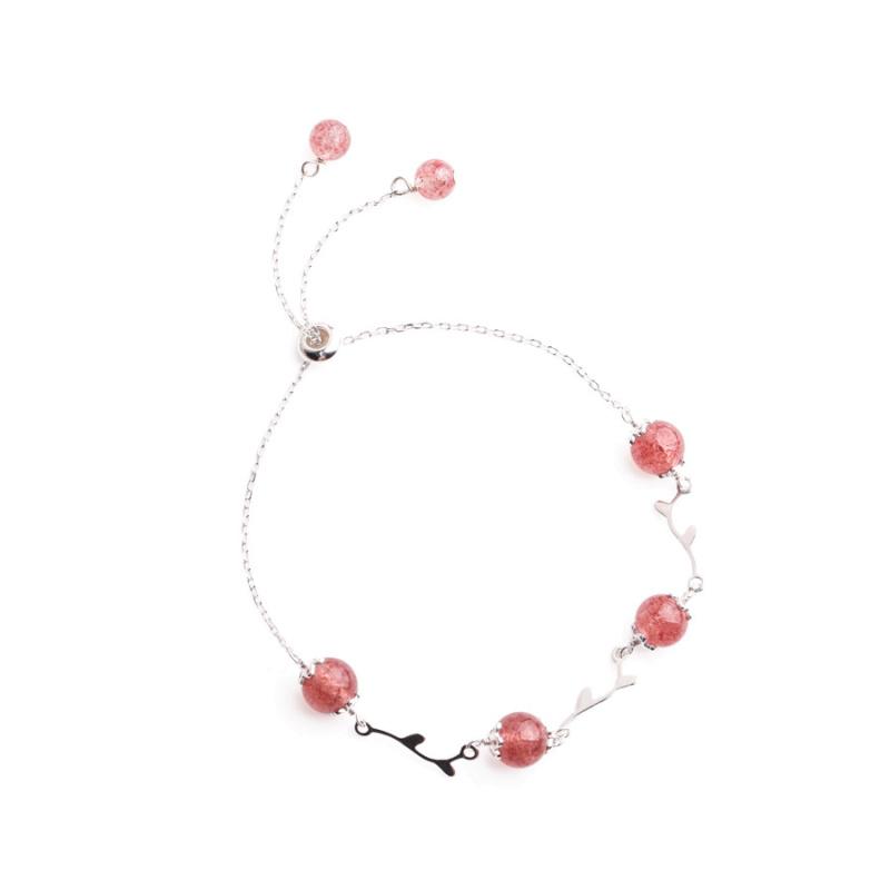 Браслет CJ 006 Розовый