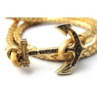 Кожаный браслет Kiel James Patrick - Royal's Golden Fleet
