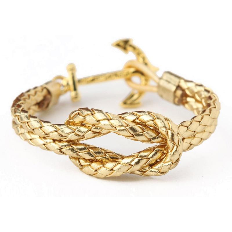 Кожаный браслет Kiel James Patrick - The Fortunate Sailor